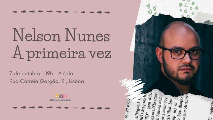 A primeira vez com Nelson Nunes