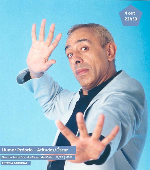 Festival Internacional de Teatro Cómico da Maia-Óscar Branco