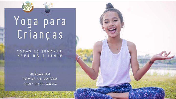 Yoga para Crianças - Aulas Regulares