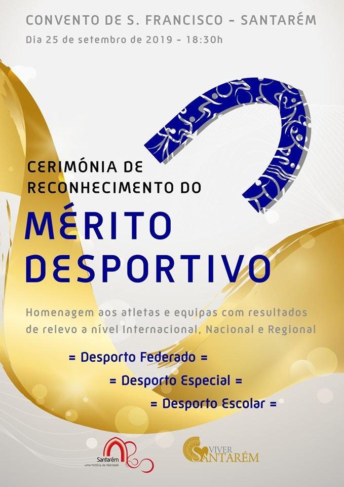 Desporto l Cerimónia de Reconhecimento do Mérito Desportivo