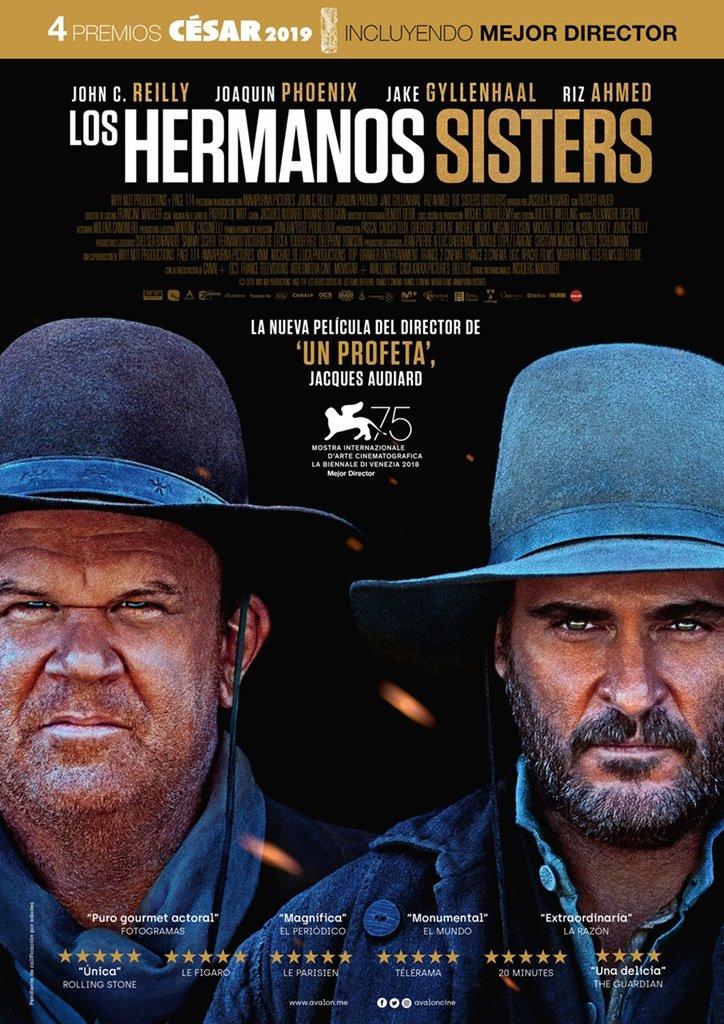 """XXXI Ciclo de Cine V.O.S.E.: """"Los hermanos Sisters"""""""