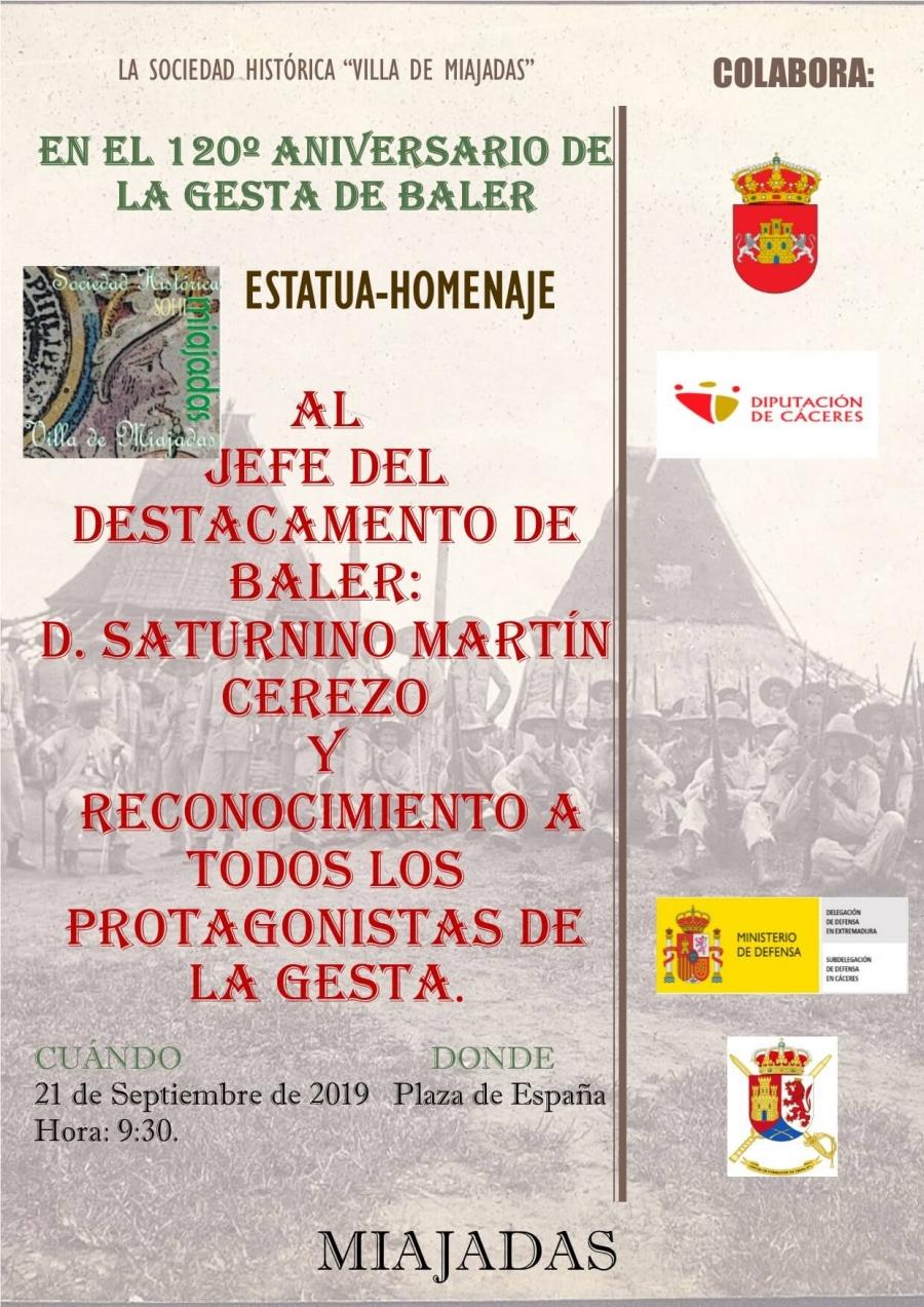 Celebración del 120º Aniversario de la Gesta de Baler