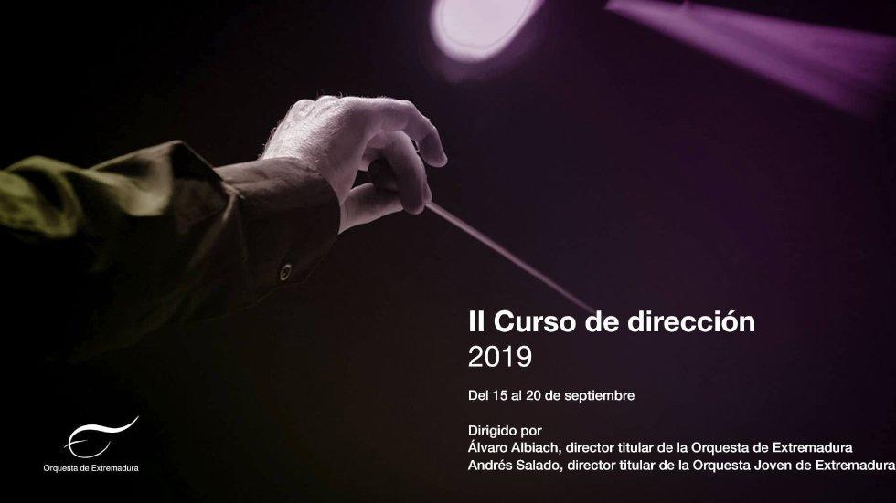 Concierto sobre el segundo curso de dirección orquestal de la OEX