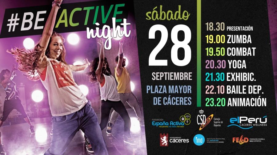 #BEACTIVE NIGHT CÁCERES