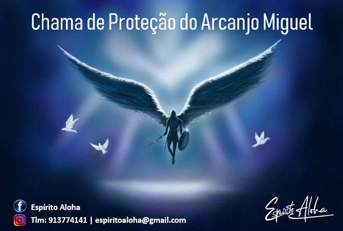 A Chama Proteção do Arcanjo Miguel - Abrantes