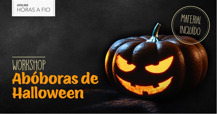 Workshop: Abóboras de Halloween