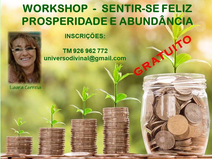 Seixal | Workshop Sentir-se Feliz - Prosperidade e Abundância