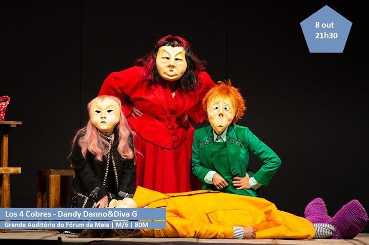 Festival Internacional de Teatro Cómico da Maia-Los 4 Cobre
