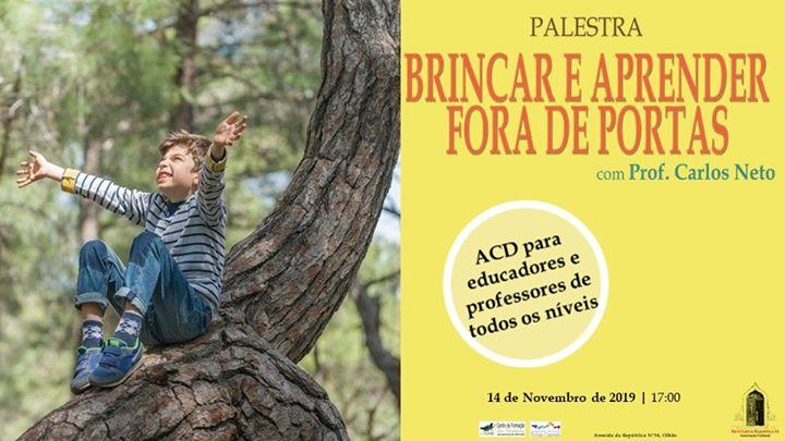 Palestra com Prof. Carlos Neto 14 de Novembro às 17:00