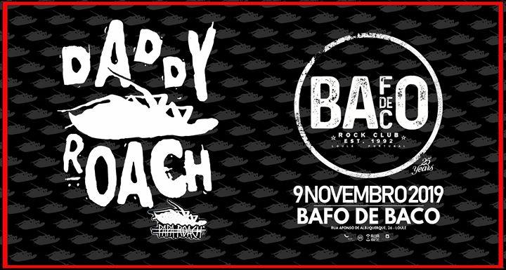 Daddy Roach - Papa Roach Tribute @Bafo de Baco