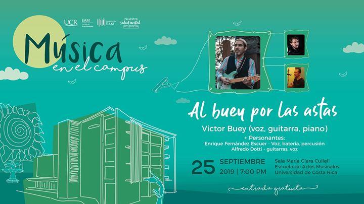 Al buey por las astas: Victor Buey + Personantes