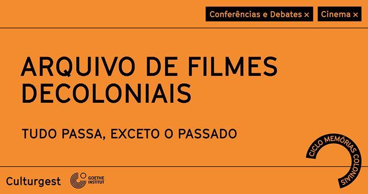 Memórias Coloniais x Mesa Redonda: Arquivo de filmes decoloniais