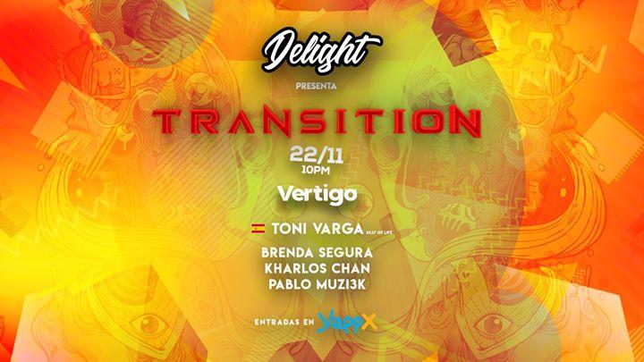 Transition with TONI VARGA at Club Vertigo (Main Room)
