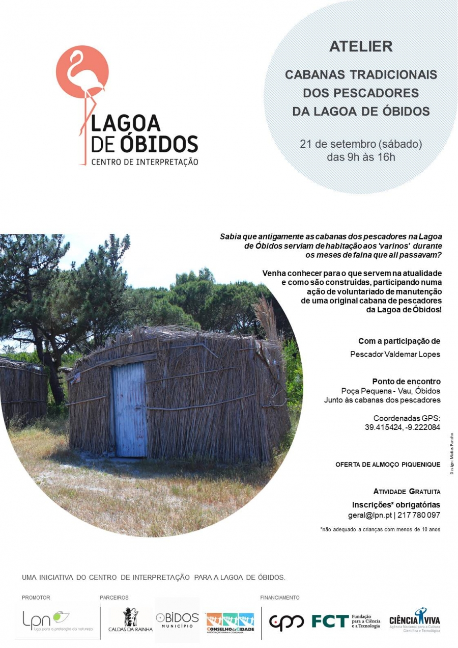Atelier  | Cabanas Tradicionais dos Pescadores da Lagoa de Óbidos