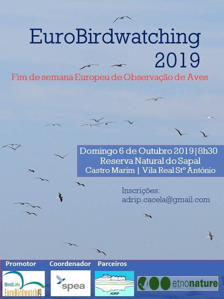 EuroBirdwatch 2019- Fim de semana Europeu de observação de aves