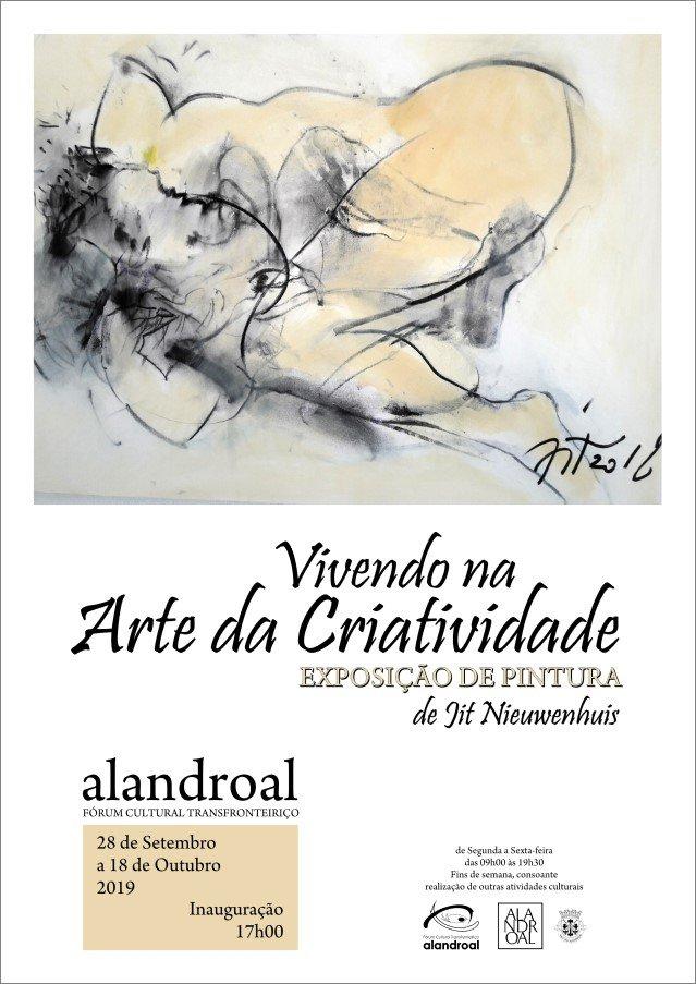 """Exposição de Pintura """"Vivendo na Arte da Criatividade"""""""
