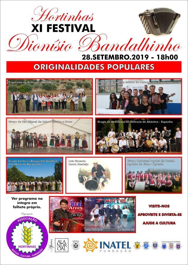 XI Festival Dionísio Bandalhinho