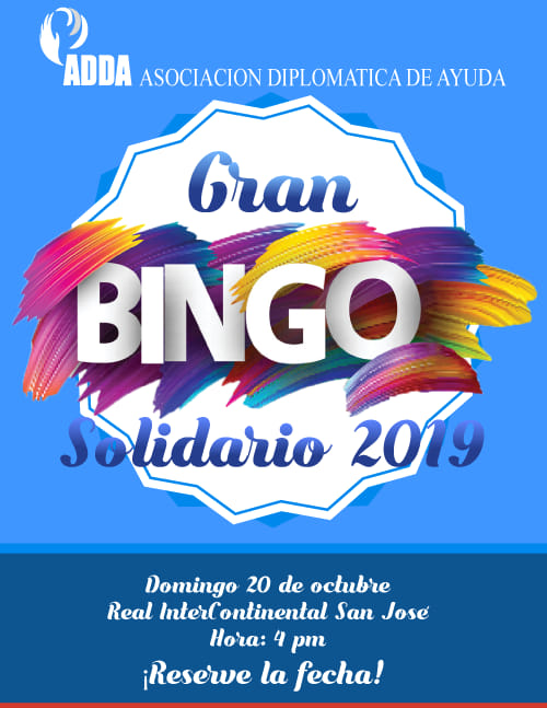 Gran Bingo Solidario ADDA 2019