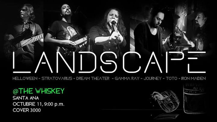LandScape: Power, Prog, 80s @The Whiskey