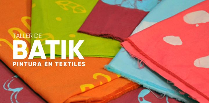 Taller de Batik, Pintura en textiles