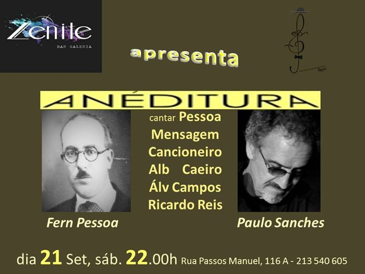 Anéditura - Paulo Sanches