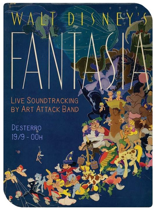 The Art Attack Band Scrambles Fantasia live at Desterro