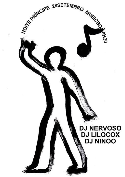 Noite Príncipe Nervoso Lilocox NinOo