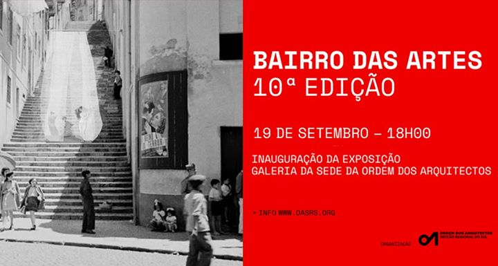 """OASRS na 10ª edição do Bairro das Artes - """"Bairro das Sombras"""""""