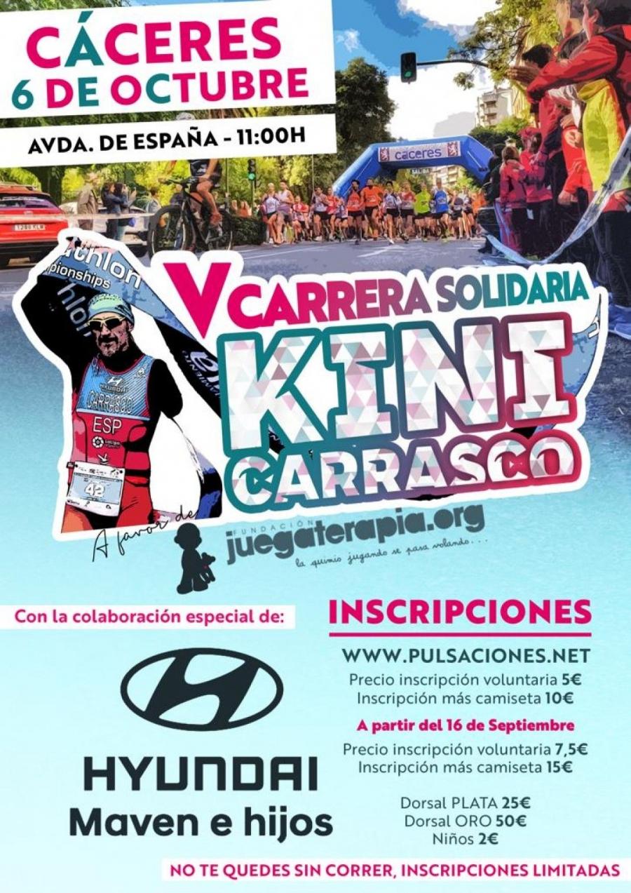 "V Carrera Solidaria ""Kini Carrasco"""
