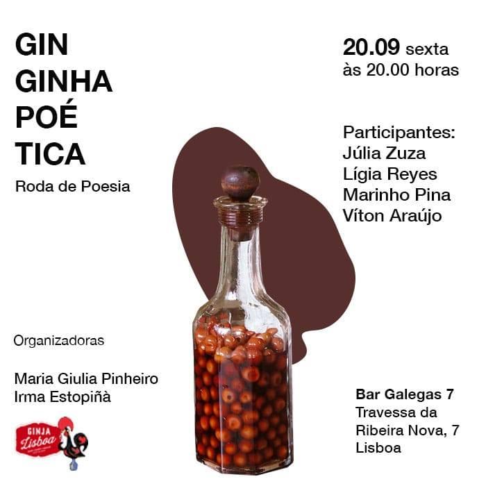 II Ginginha Poética - roda de poesia com Ginja