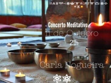Concerto Meditativo com Taças e Gongo Tibetano