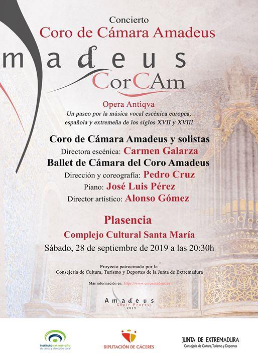 Concierto del Coro de Cámara Amadeus