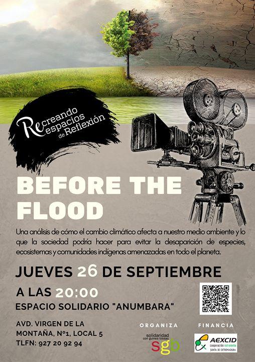 Before The Flood. Ciclo de Cine y Derechos Humanos