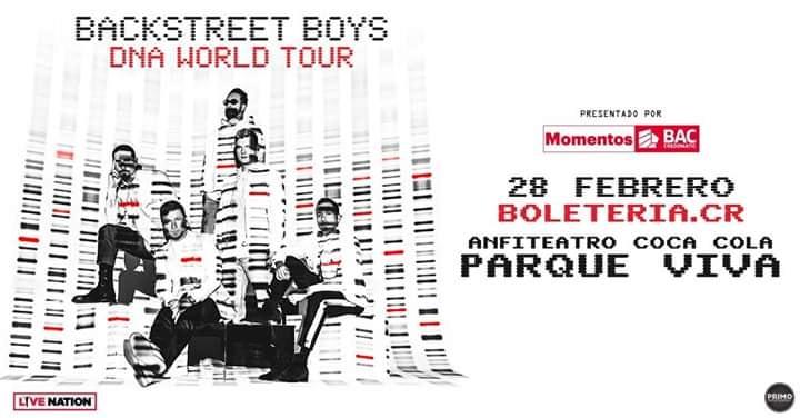 BackStreet Boys  En Costa Rica