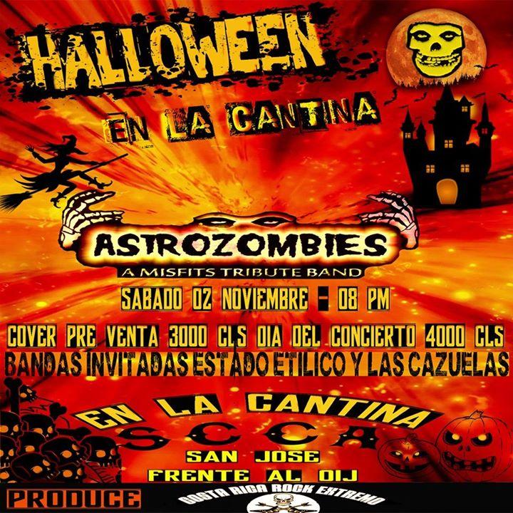 Astrozombies - Halloween en La Cantina SCCA