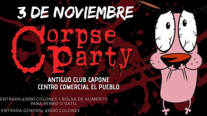Corpse Party / Antiguo Club Capone (Centro Comercial El pueblo)