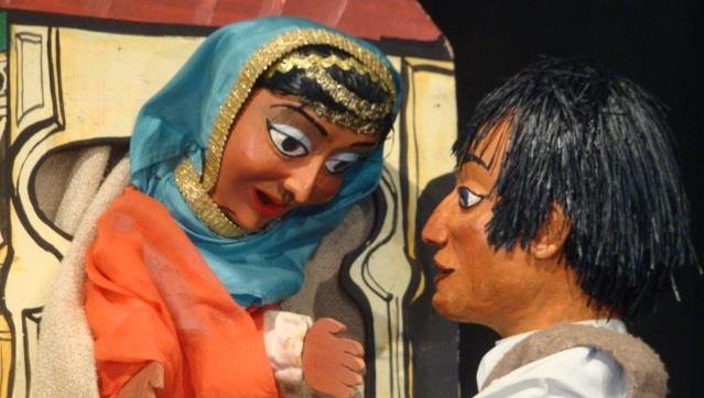 Marionetas   Campanha Escolar - A PRINCESA ZIAH