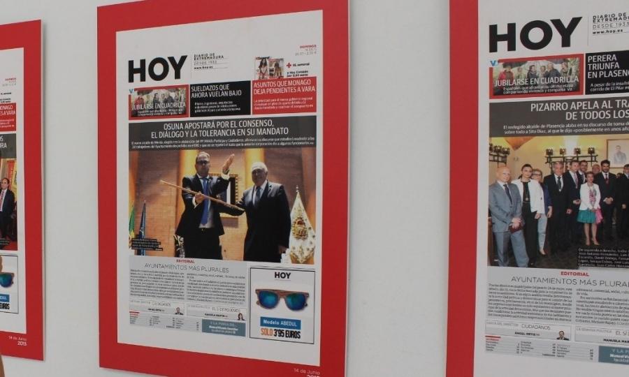"""Exposición """"40 años de democracia en los ayuntamientos de Extremadura"""""""