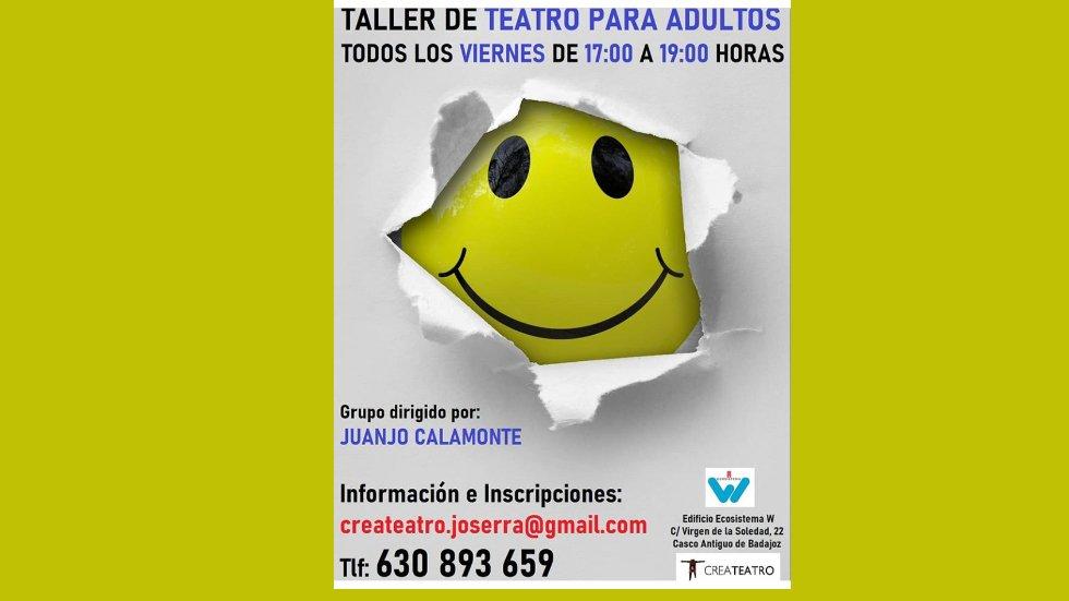 Taller de Teatro par adultos  en el Ecosistema W