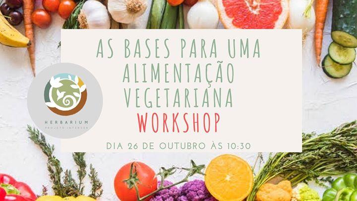 As bases para uma Alimentação Vegetariana