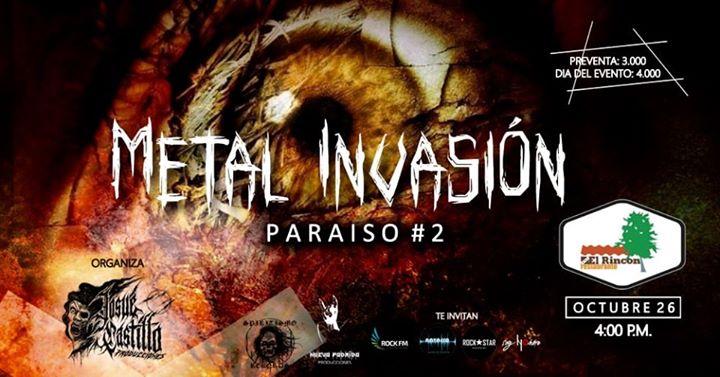 Metal Invasion Paraíso#2