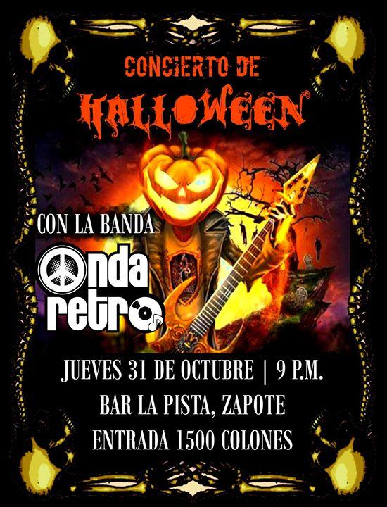 Rock De Halloween en Zapote