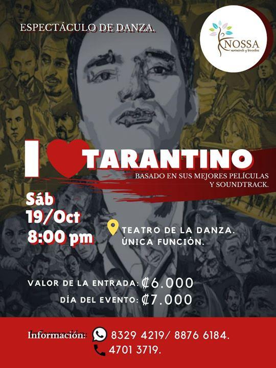 I love Tarantino