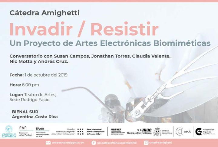 Conversatorio: artes electrónicas