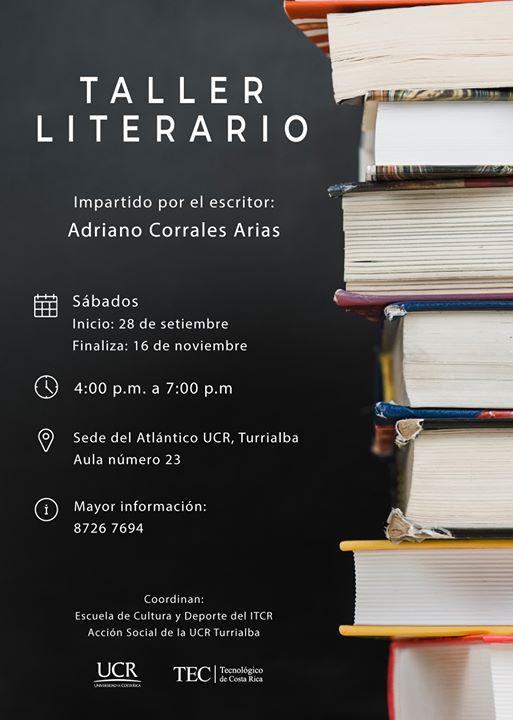 Taller Literario UCR Turrialba