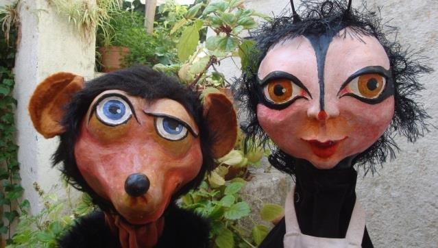 Marionetas | Campanha Escolar - A HISTÓRIA DA CAROCHINHA
