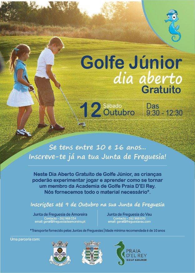 Golfe Júnior   Dia Aberto