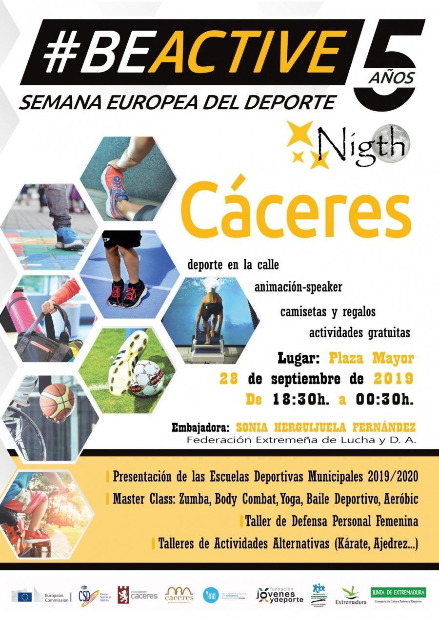 """BeActive """"Semana Europea del Deporte"""""""