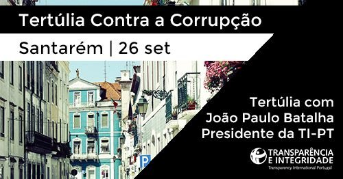 "Tertúlia l ""Contra a Corrupção"""