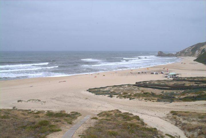 Pôr-do-Sol na Praia das Paredes da Vitória